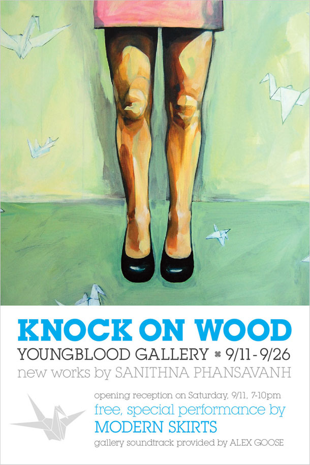 Knock on Wood, Young Blood Gallery 9/11